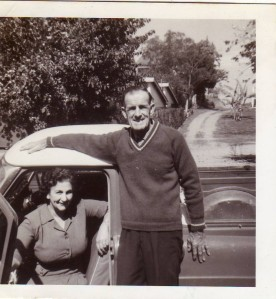 My mother and father when I was around fifteen.